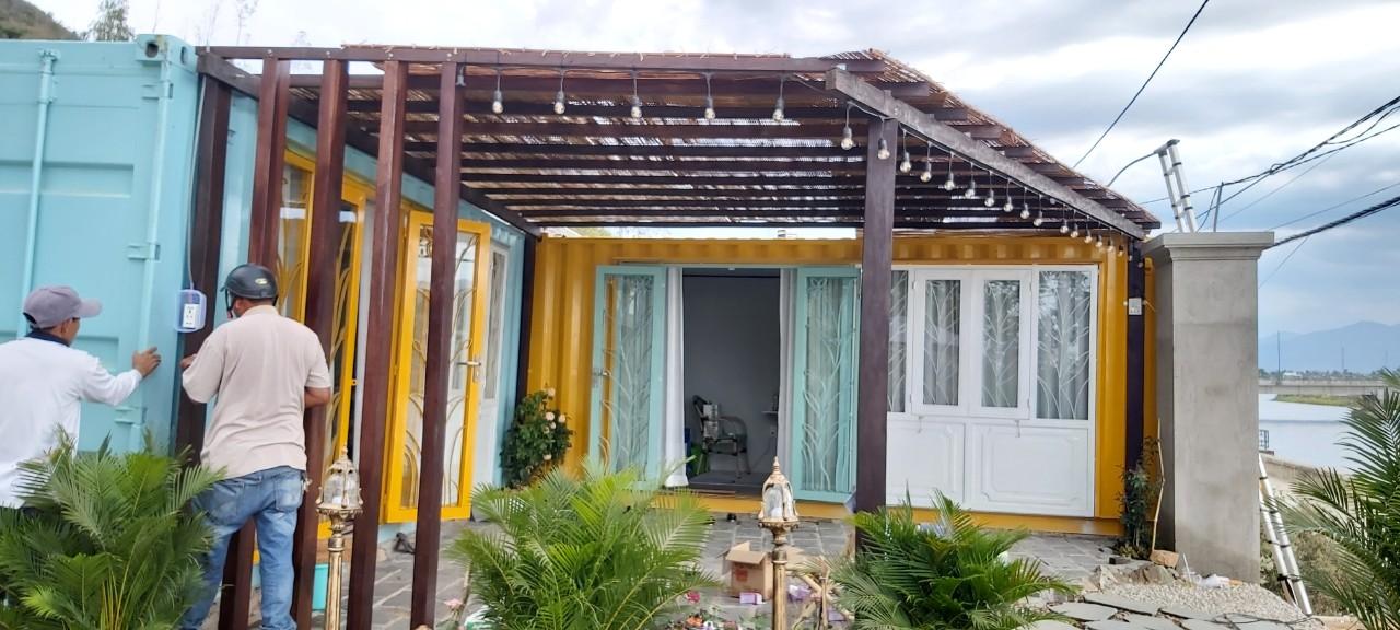 Nhà mẫu Container tại Nha Trang ấn tượng từ cái nhìn đầu tiên